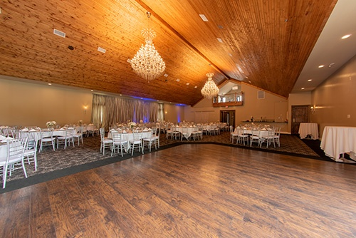 Andre's Old Stone Chapel Wedding Venue dance floor